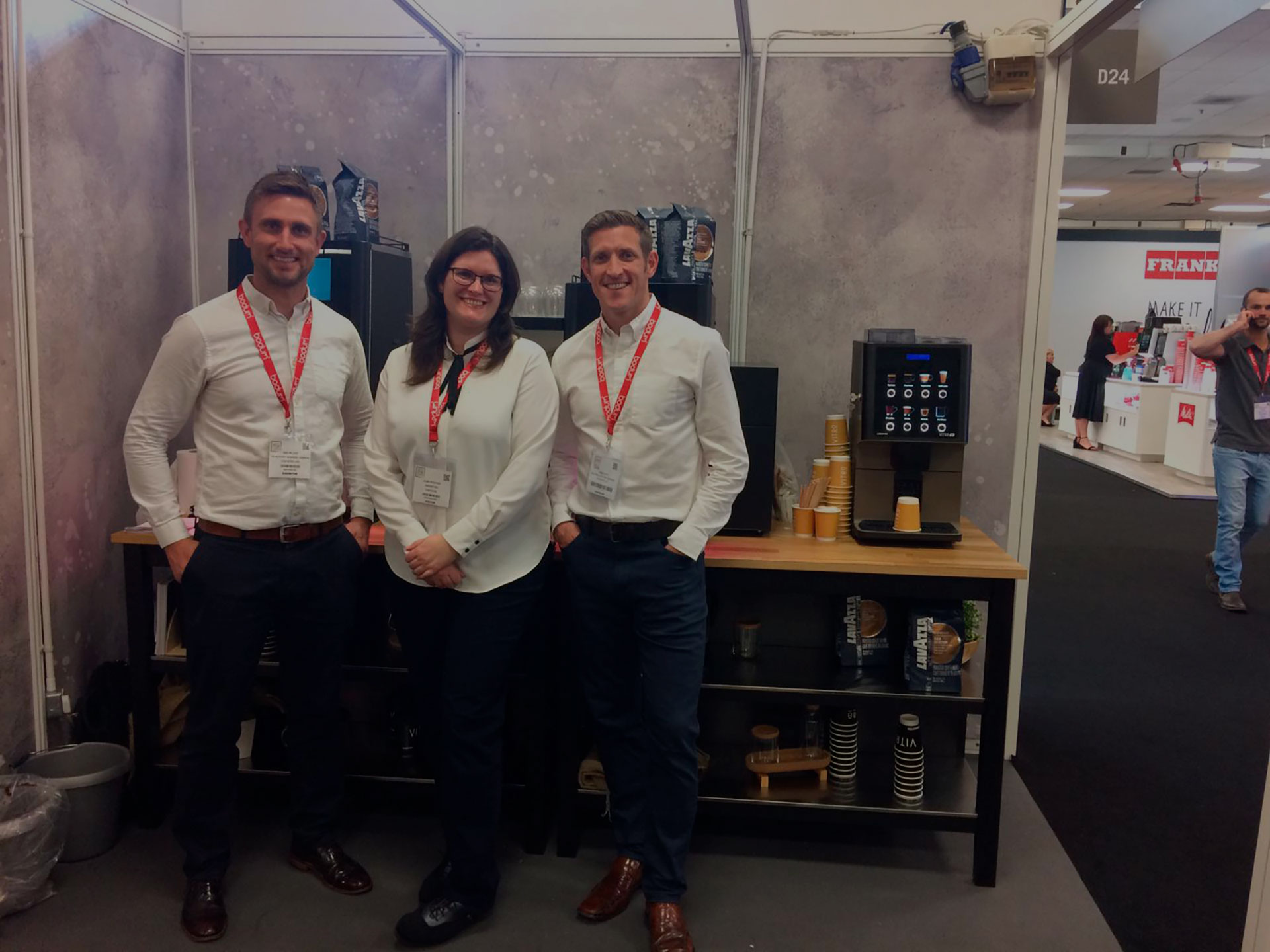 Coffetek showcases its new machines at the European Coffee Expo in London
